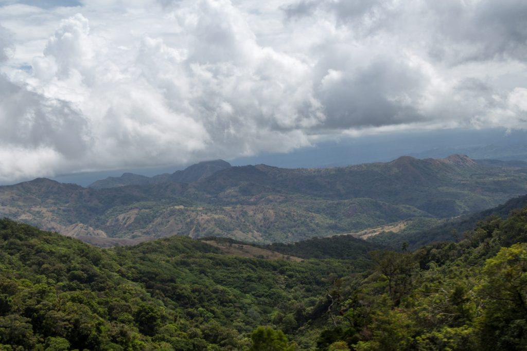 Lush valleys in Boquete highlands