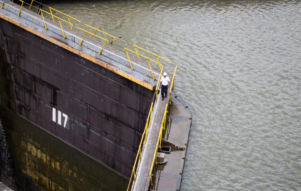 Panama Canal Lock Gates