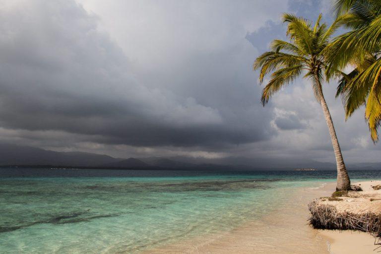 Storm near San Blas