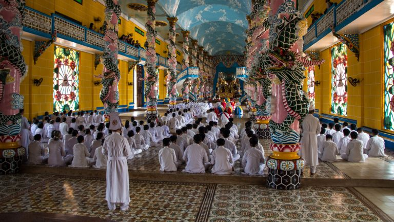 Cao Dai Great Temple – home to a unique religion in Vietnam