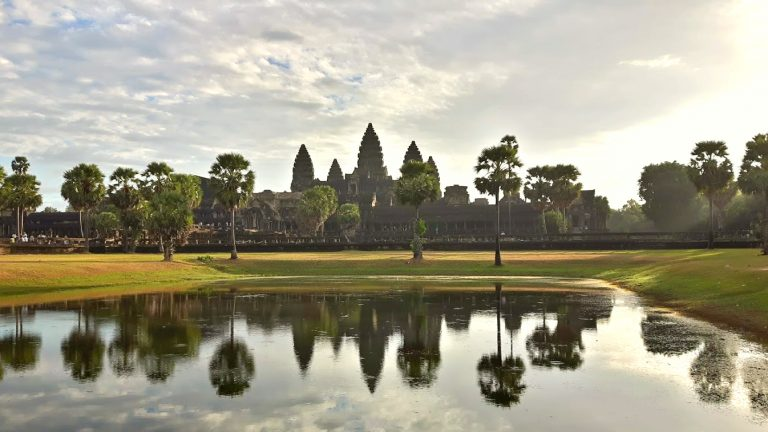 Largest religious monument in the world – Angkor Wat