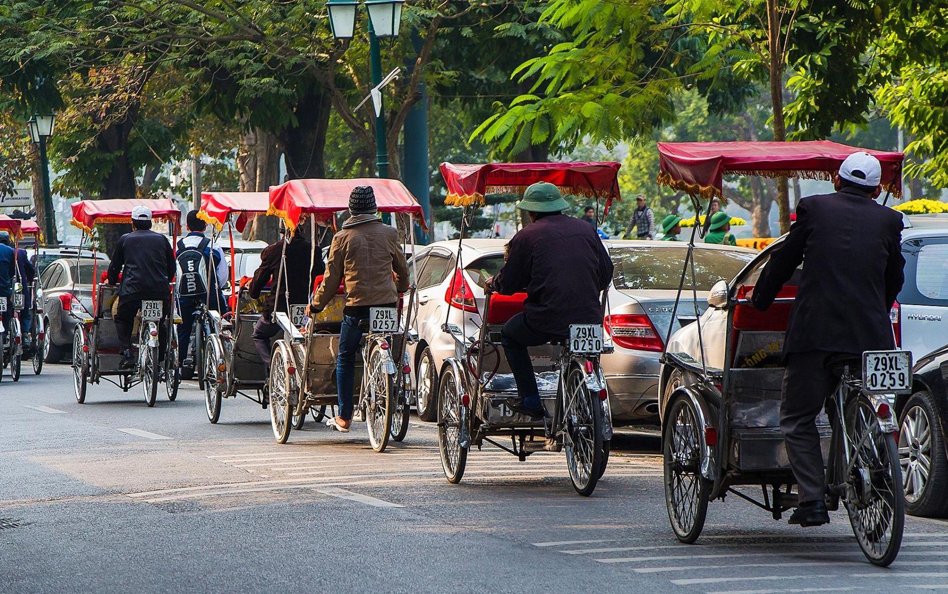 Hanoi Bike Tuk Tuk