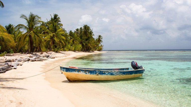 Paradise in San Blas Islands