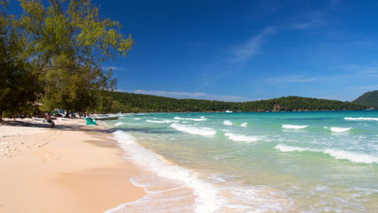 Silky white beaches of Koh Rong Samloem