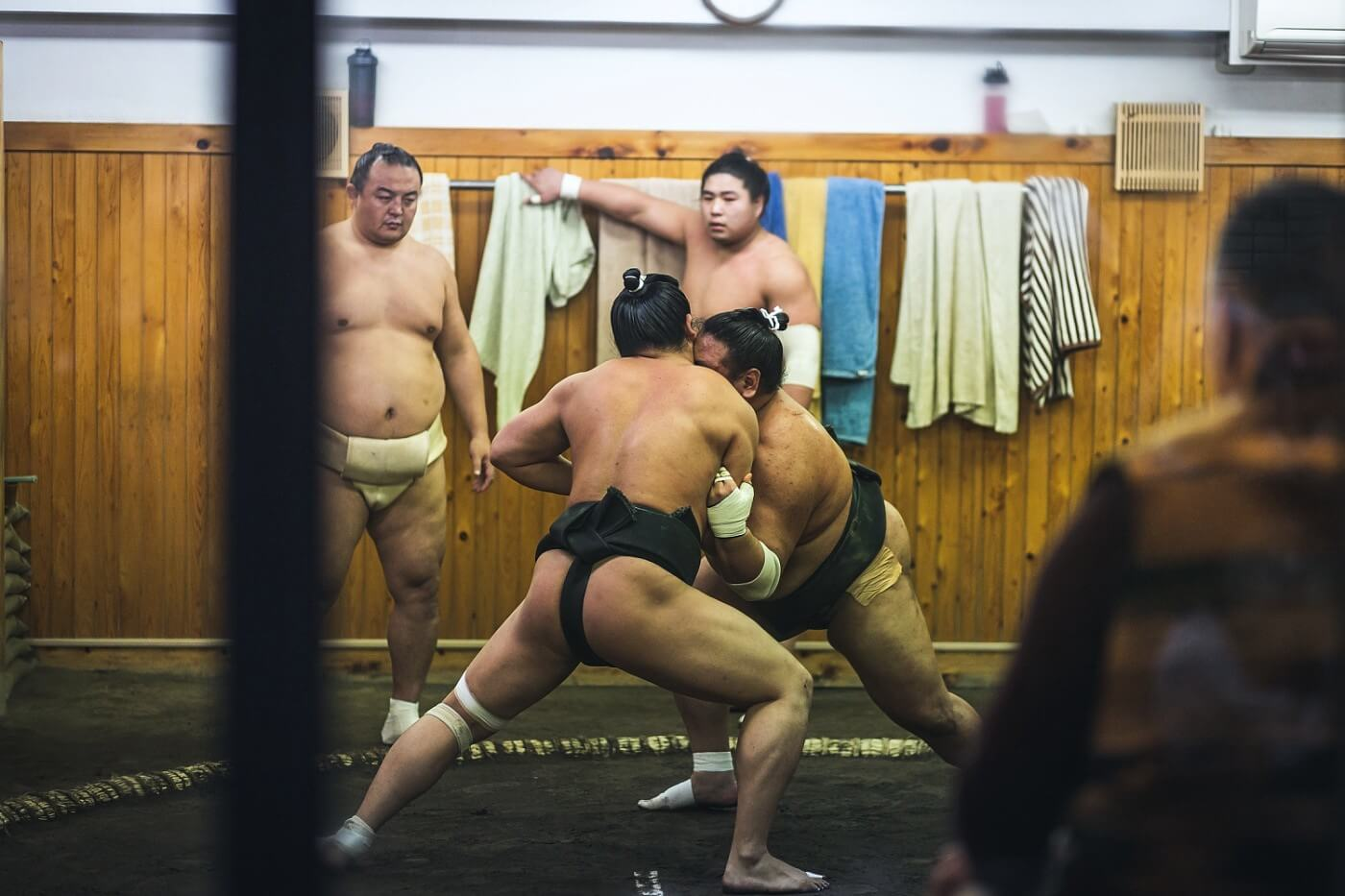 Sumo Training Session, Tokyo