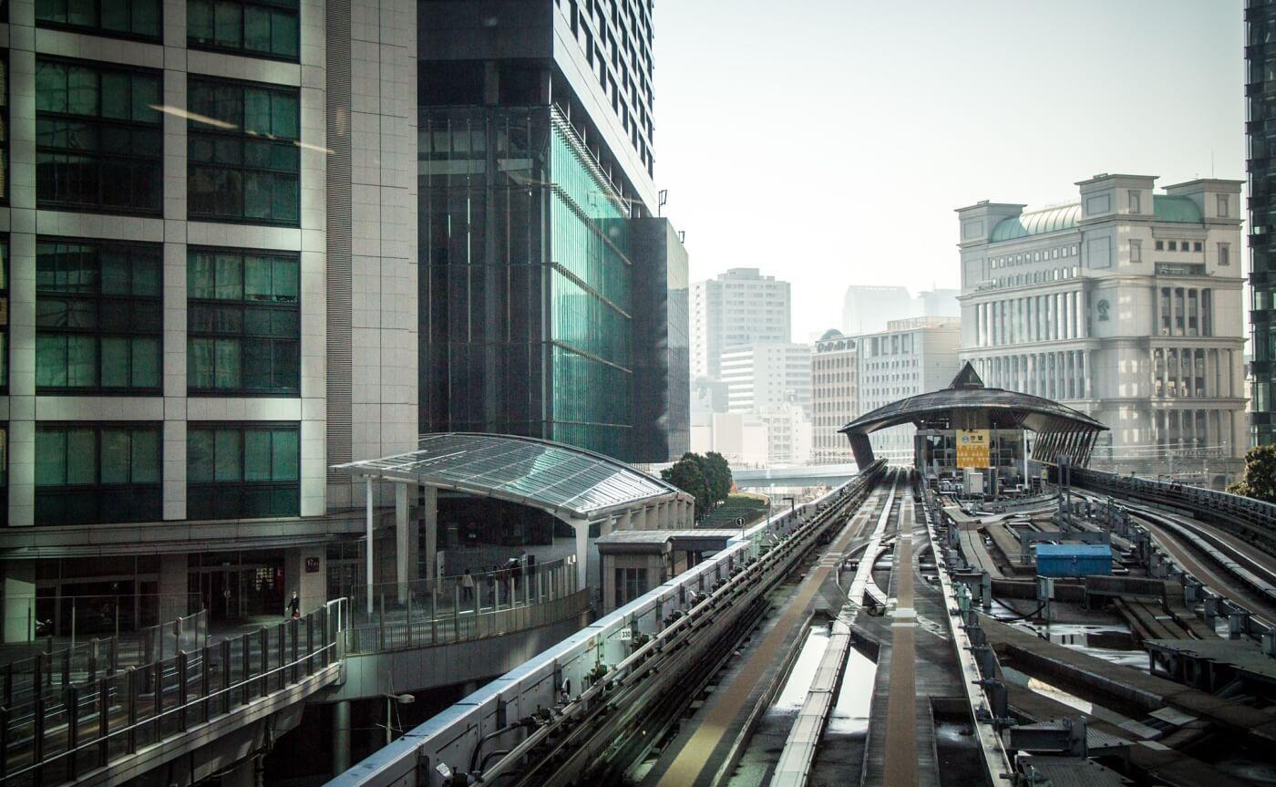 Elevated Train, Tokyo